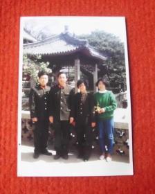 老照片,军人与家属--影集1