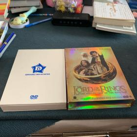 the lord of rings(DVD)魔戒三部曲 六张