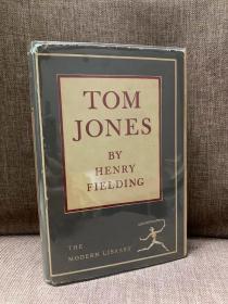 Tom Jones(亨利·菲尔丁《汤姆·琼斯》》,老版Modern Library,布面精装带护封,贴有漂亮藏书票)