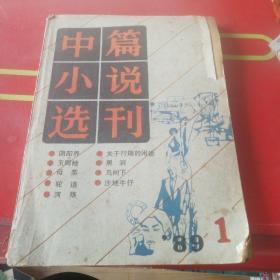 中篇小说选刊1989年1期