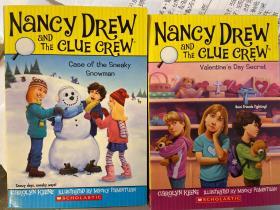 英文原版|Nancy Drew and the Clue Crew系列