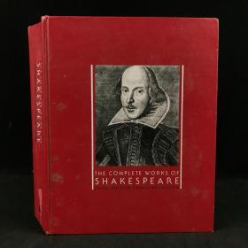 1980年,《莎士比亚全集》,数十幅插图,部分为彩色,大开本厚本精装,The complete works of Shakespeare