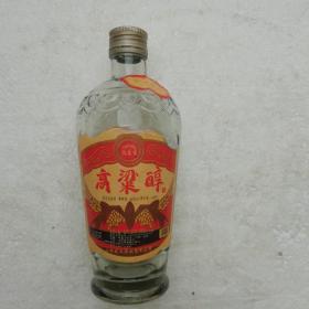 酒瓶酒标(高梁醇,酒标有破损)
