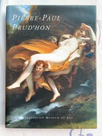 现货 Pierre-Paul Prud'Hon 英文原版 布面精装 皮埃尔·保罗·普吕东