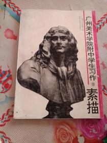 广州美术学院附中学生习作.素描