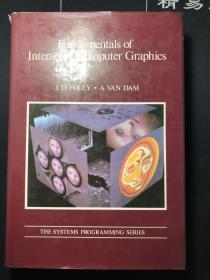 Fundamentals of Interactive Computer Graphics计算机绘图基础精装带书衣,内有彩插