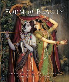 预售美的形式[全球限量版]印度克利须那艺术印度国宝级的艺术家 The Krishna Art of B. G. Sharma Form of Beauty Limted Edition