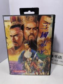 游戏机用游戏卡 三国志 V 【1996黄金正版任天堂RPC】