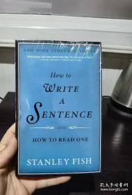 How to Write a Sentence:And How to Read One,如何写句子英文,封面有勒痕,无笔记无划线,满20元包邮,