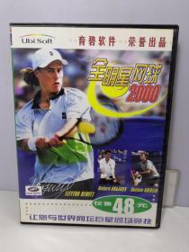 游戏光盘 全明星网球 2000 1CD