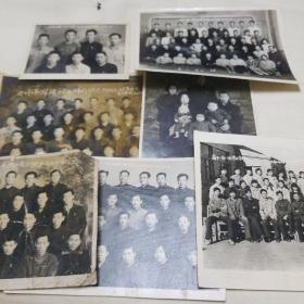 60年代黑白老照片(7张)