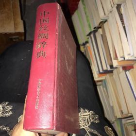 中国丝绸辞典 精装