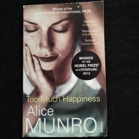 英文原版 ALICE MUNRO TOO MUCH HAPPINESS