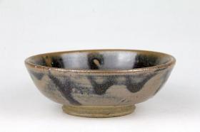 古董,古瓷器,元代出土瓷碗,开门美品中古元代黑釉陶瓷茶盏, 精致典雅,神秘莫测 ,非常稀有,瓷器中之珍品极为稀有罕见,绝世珍品,极品,孤品,收藏可遇不可求的宝物