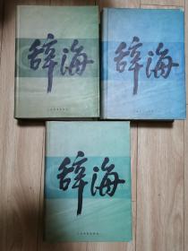 辞海(上中下)1999年普及本