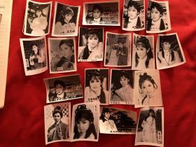 翁美玲古装剧照老照片黑白照19张合售