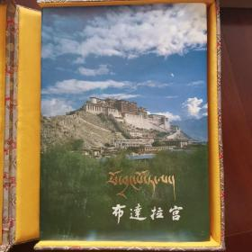 布达拉宫  布达拉宫(画册 藏文汉文藏汉对照 文物出版社,1985年1版1印,硬精装,带锦盒包装和原外包装盒子,孔网最完整的一套)