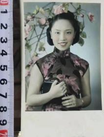 民国旗袍美女老照片