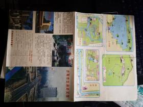 济南市交通游览图
