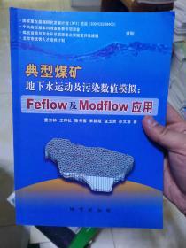 典型煤矿地下水运动及污染数值模拟:Feflow及Modflow应用
