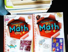 My Math, Grade 1, Vol. 1-2  【2本合售】