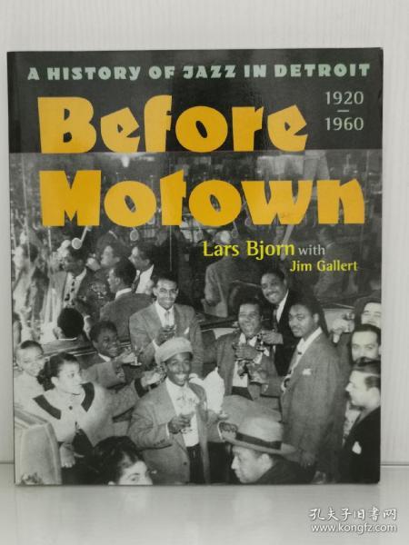 BeforeMotown:AHistoryofJazzinDetroit,1920-60