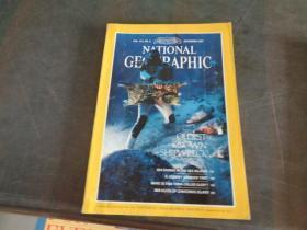 National geographic国家地理(1987年12月)带地图