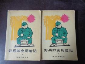 好兵帅克历险记(上、下册)两本合售
