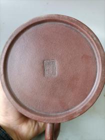 清代老紫沙茶壶