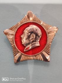 毛主席纪念章[五角星形]直径3cm