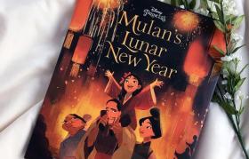 预售木兰的农历新年绘本Mulan's Lunar New Year