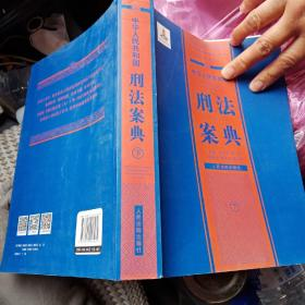 中华人民共和国刑法案典(下)