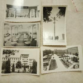 老照片-华北电力学院(照片5张)