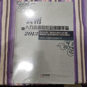 云南人力资源和社会保障年鉴. 2013