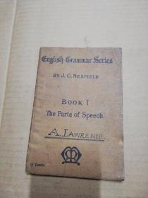 English Grammar Series(Book I)The Parts of Speech