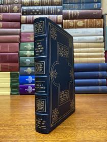 The late George Apley  真皮精装限量版,书口三面刷金,能保存数百年的存档级别的无酸纸