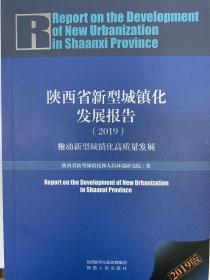 陕西省新型城镇化发展报告(2019)