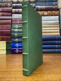 The Poems of W . B . yeats  真皮精装书口三面刷金, 能保存数百年的存档级别的无酸纸。