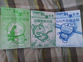 哆啦A梦科学世界3本合售