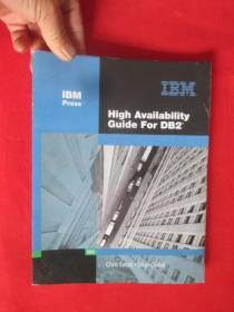 High Availability Guide for DB2   (16开) 【详见图】