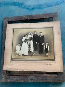 民国国泰照相馆结婚照 婚纱照