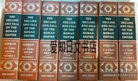 【包邮】The History Of The Decline And Fall Of The Roman Empire 1974年出版