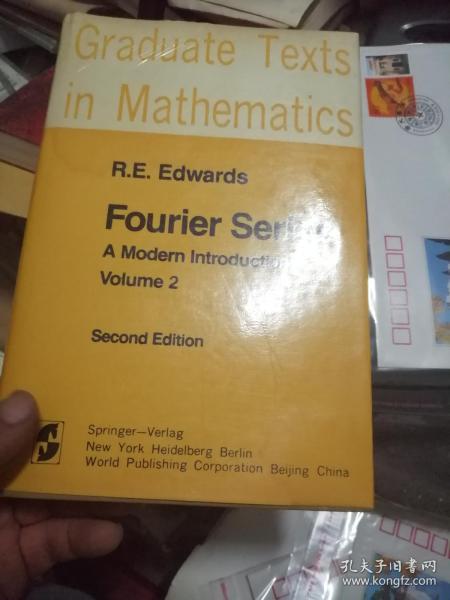 fourier series: VOLUME2傅立叶级数(精装数学英文书)私藏