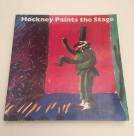 Hockney Paints the Stage - Signed with drawing by David Hockney