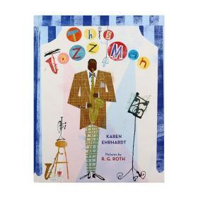 美国插画师R.G. Roth 爵士乐大师群像 This Jazz Man 精装