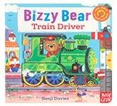进口原版 小熊很忙系列 Bizzy Bear: Train Driver 火车司机