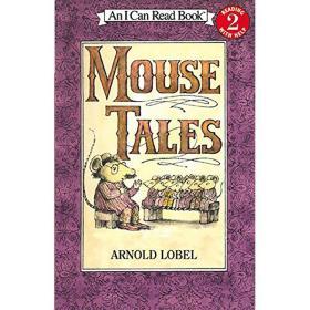 原版Mouse Tales汪培珽私房英文第3阶段I Can Read L2老鼠尾巴