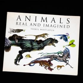 预售真实与想象中的动物平装Animals Real and Imagined : Fantasy of What is and What Might be