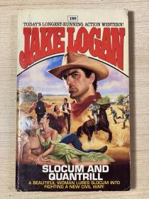 【英文原版小说】SLOCUM AND QUANTRILL by Jake Logan