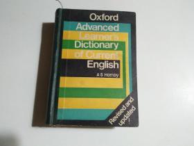 Oxford Advanced Learner'sDictionary of current english(32开 书名见图 品相见图)
